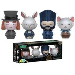 Alice Through The Looking Glass- Mad Hatter, Mc Twisp, Time And Mallymkun 4 Pack