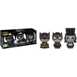Batman, Catwoman And The Penguin 3 Pack