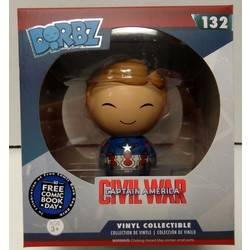 Captain America Civil War Captain America Unmasked Dorbz
