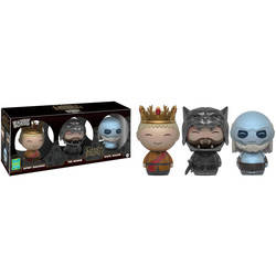 Game of Thrones - Joffrey, The Hound And White Walker 3 Pack