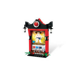 Ninjago Card Shrine