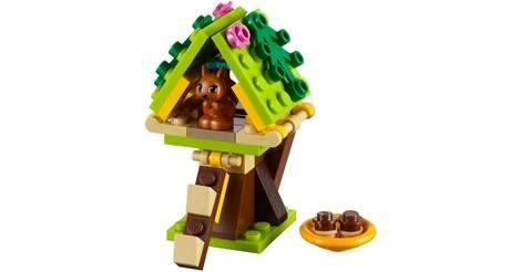 Squirrels Tree House Lego Friends Set 41017