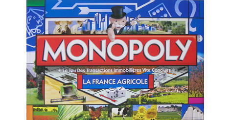 monopoly france agricole jeu monopoly des r gions villes. Black Bedroom Furniture Sets. Home Design Ideas