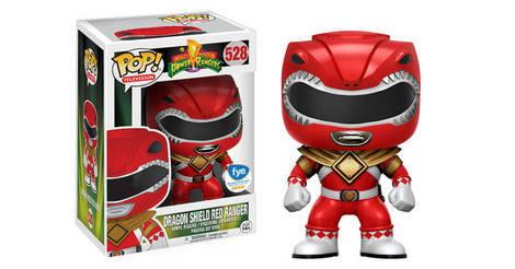 Dragon Shield Red Ranger Figurine Pop 528 Pop Television