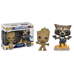Groot And Rocket 2 Pack