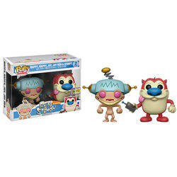 Ren And Stimpy - Happy, Happy, Joy, Joy Ren And Stimpy 2 Pack