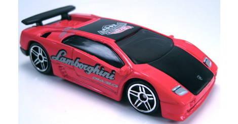 Lamborghini Diablo Classic Hot Wheels Model