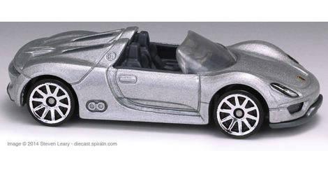 porsche 918 spyder hot wheels model x1615. Black Bedroom Furniture Sets. Home Design Ideas