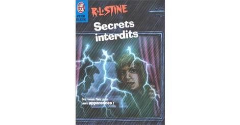 Secrets Interdits Livre Peur Bleue