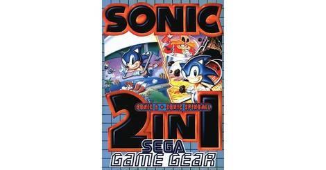 Sonic 2 In 1 Sonic 2 Sonic Spinball Sega Game Gear