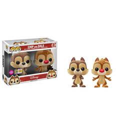 Chip and Dale Flocked 2 Pack