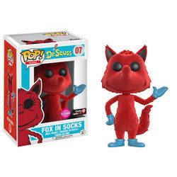 Dr Seuss - Fox in Socks Flocked