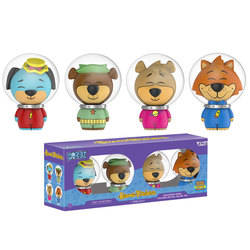 Huckleberry Hound, Yogi Bear, Boo Boo and Mr. Jinx 4 Pack