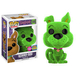 Scooby-Doo - Scooby-Doo Green Flocked