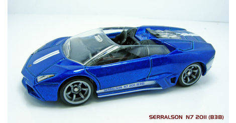 Lamborghini Reventon Roadster Classic Hot Wheels Model