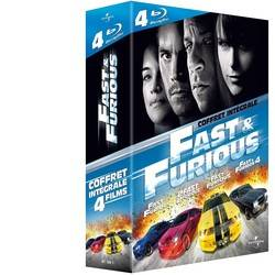 Fast and Furious - L'intégrale 4 films (Blu-Ray)