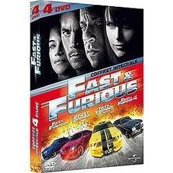 Fast and Furious - L'intégrale 4 films (DVD)