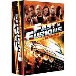 Fast and Furious - L'intégrale 5 films (DVD)