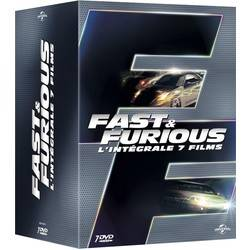 Fast and Furious - L'intégrale 7 films (DVD)