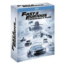 Fast and Furious - L'intégrale 8 films (Blu-Ray)
