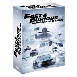 Fast and Furious - L'intégrale 8 films (DVD)