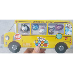 Walgreens Exclusive School Bus Tsum Tsum Set