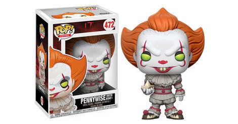 It Pennywise With Boat Pop Movies Action Figure 472