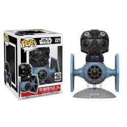 Tie Fighter Pilot with Tie Fighter