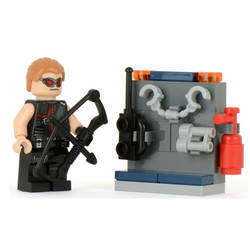 Hawkeye with equipment