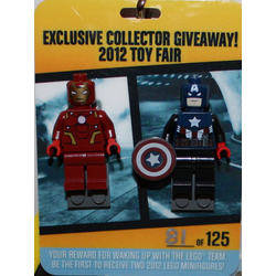 Iron Man & Captain America (NYCC 2012 Collectors Preview)