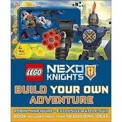Nexo Knights: Build Your Own Adventure parts