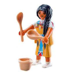 Native american cook