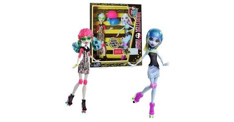 Abbey bominable ghoulia yelps 2 pack skultimate - Jeux monster high roller ...