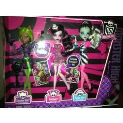 Clawdeen, Draculaura & Frankie (3-pack) - Dawn of the Dance