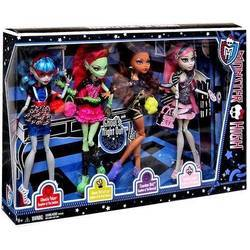 Clawdeen, Ghoulia, Rochelle & Venus (4-pack exclusive) - Ghoul's Night Out