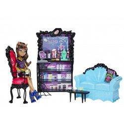 Coffin Bean + Clawdeen - Monster Café - Coffin Bean