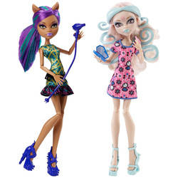 Viperine Gorgon & Clawdeen Wolf (2-pack) - Scare & Makeup