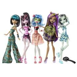 Cleo, Draculaura, Ghoulia, Clawdeen & Frankie (5-pack) - Skull Shores