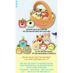 Micro Tsum Tsum Fruit Basket Set