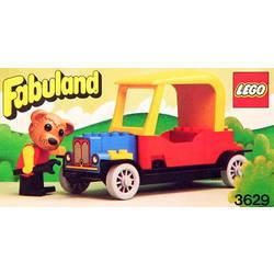 LEGO FABULAND Auto 3635 et personnage Bonnie Bunny et Camper de 1981
