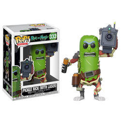 Rick and Morty - Pickle Rick with Laser