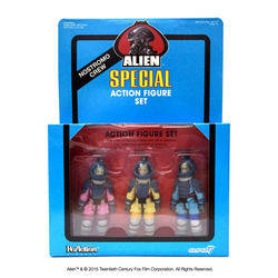 Aliens - Nostromo 3 Pack Blue Card Variant