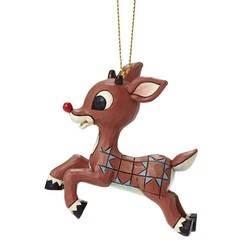 Rudolph Flying Hanging Ornament