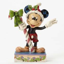 Sweet Greetings - Mickey Mouse with Candy Cane