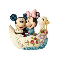 Lovebirds - Mickey and Minnie in Swan