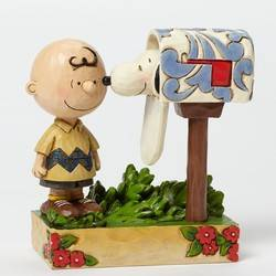 Special Delivery-Charlie Brown Mailbox