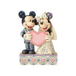 Two Souls, One Heart - Wedding Mickey and Minnie Personalization