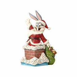 Up on the Roof Top - Santa Bugs Bunny