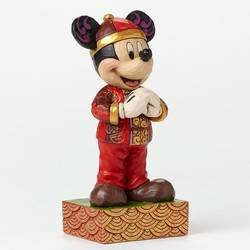 Greetings From China - Mickey Mouse In China