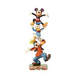 Teetering Tower - Goofy, Donald, and Mickey